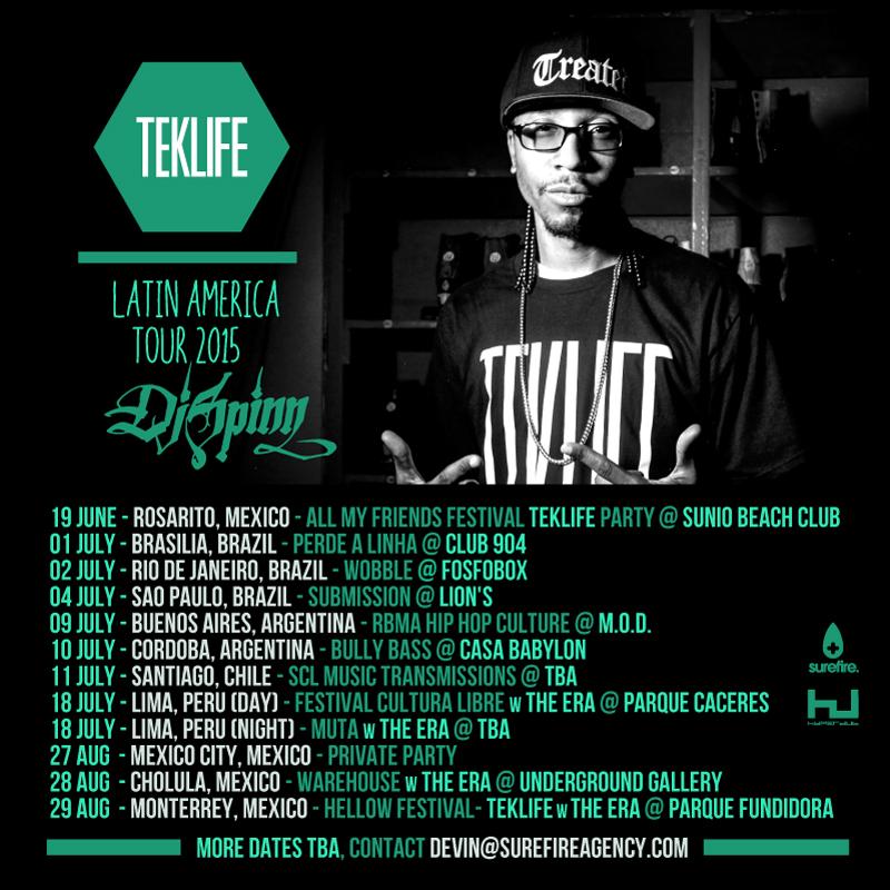 DJ SPINN - 2015