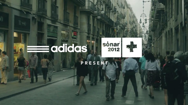 adidas + Sonar 2012 Present - ALL INTERVIEW: DJ SPINN + DJ RASHAD